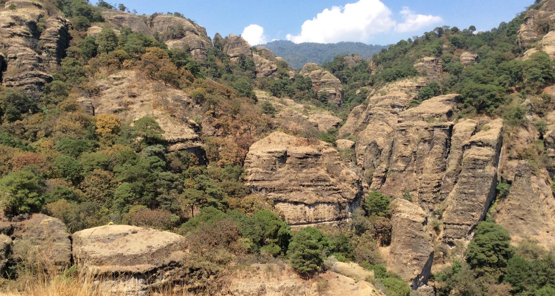 Montañas Tepoztlan México